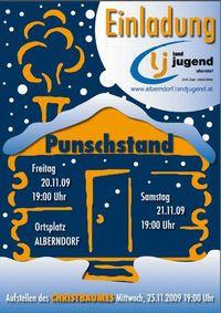 Punschstand der LJ Alberndorf@Ortsplatz