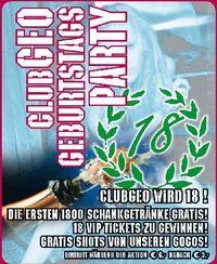 Club Geo Geburtstagsparty