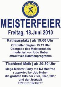 Meisterfeier Sc Melk@Rathausplatz