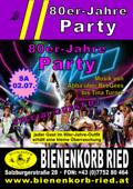 80er Jahre Party@Bienenkorb Ried