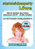 Sternzeichenparty Löwe@Bienenkorb Ried