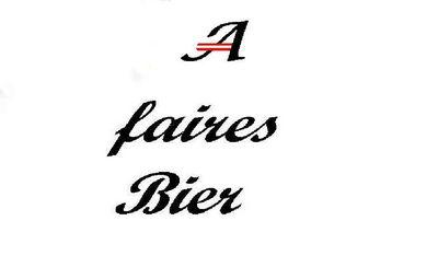 Gruppenavatar von A fairs Bier