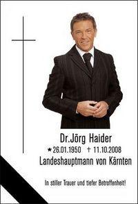 Gruppenavatar von †Lebe Wohl Jörg Haider R.I.P†