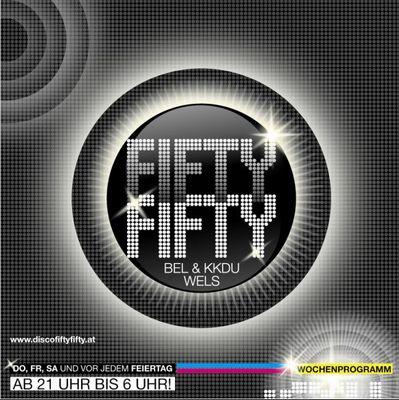 Gruppenavatar von FIFTY FIFTY, die neue Disco in Wels