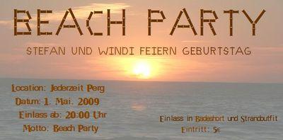 Gruppenavatar von Beach Party!! Stefan und Windi feiern Geburtstag