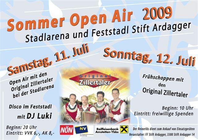 Stadlmania - 26.09.2009 - Feststadl Stift Ardagger - Szene1