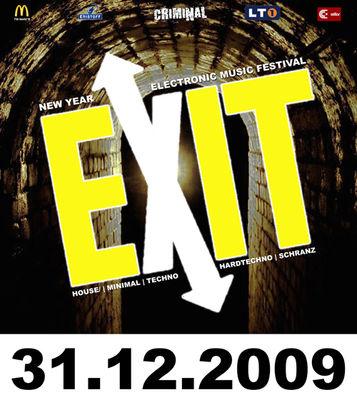 Gruppenavatar von EXIT 2009 - Electronic Music New Year Festival