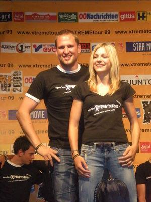 Gruppenavatar von XTREMEtour 2009 - Pepi & Sarah müssen gewinnen