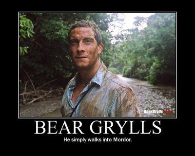 Gruppenavatar von Bear Grylls, He simply walks into Mordor