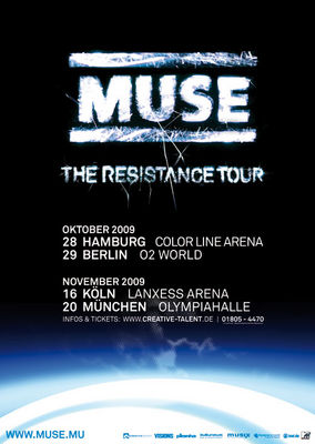Gruppenavatar von Muse - The resistance Tour 09