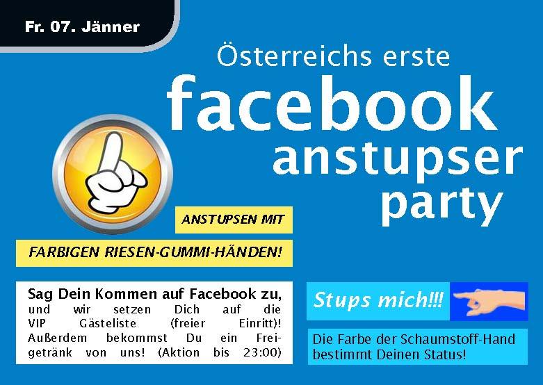 anstupsen bei facebook geht nicht mehr