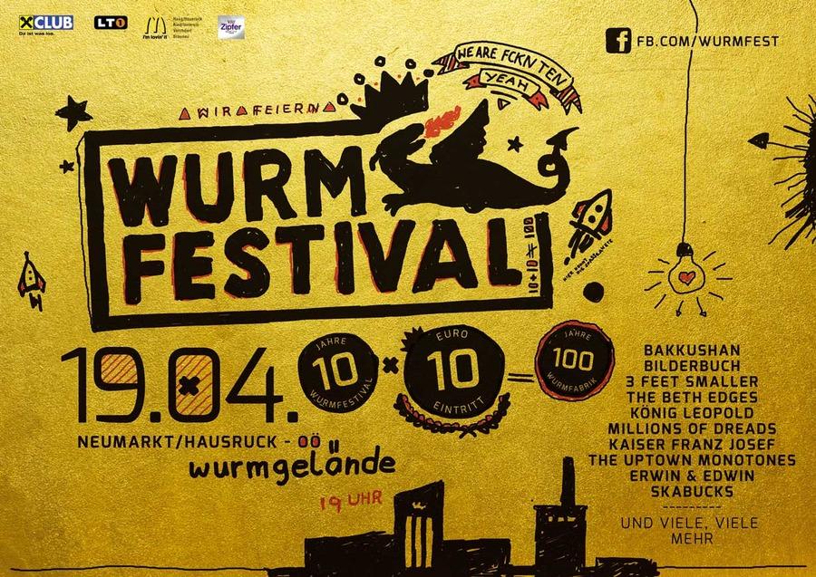 10 Jahre Wurmfestival - 19 04 2014 - Wurmgelände