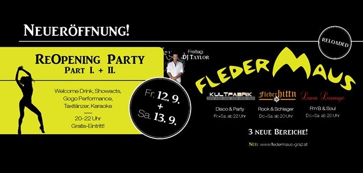 Fledermaus graz single party