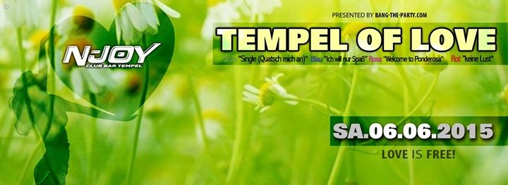 Tempel of Love - Singleparty - Altach - Wohintipp