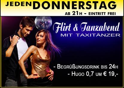 Jeden Donnerstag Flirt & Tanzabend - Partymaus Wrgl - huggology.com