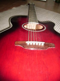 Ich liebe meine Gitarre mehr als Schokolade.