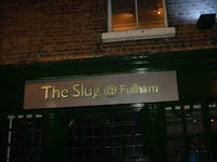 The Slug@Fulham Walky Shebu Appreciation Club
