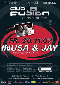 ClubFusion - Inusa & Jay@Babenberger Passage