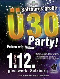 Salzburgs grosse Ü30 Party - Feiern wie früher