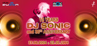 10 Years DJ Sonic@Area 51
