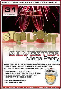 Silvester Mega Party