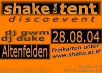 Shake the Tent@Reitplatz