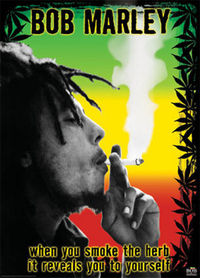 BOB MARLEY - when you smoke the herb, it reveals you to yourself