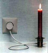 Gruppenavatar von Bei Stromausfall muss ich immer bei Kerzenlicht Fernsehen !!!