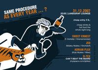 Florian Meindl meets Same Procedure as Every Year ... ?@Landgraf Lounge