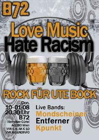 Love Music, Hate Racism@B72