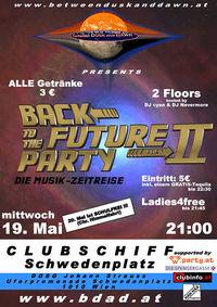 Back To The Future Party 2@Clubschiff Schwedenplatz