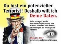Gruppenavatar von Österreich darf nicht zum Überwachungsstaat werden