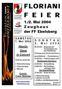 Floriani Feier 2004@Feuerwehrhaus Ebelsberg