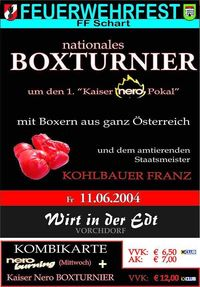 Nero Boxturnier Schart@Wirt in der Edt
