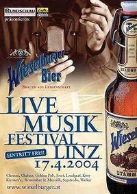 Live Musik Festival Linz@9 Lokale
