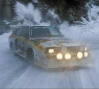 WARNING  dont  try  to  catch  a  quattro  in  the  snow  !!!