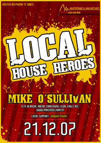 Local House Heroes – Mike O'Sullivan @ Herber's @Herbers: Lust.auf.Bar