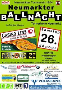 Neumarkter Ballnacht@Turnerheim Neumarkt