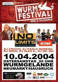 Wurmfestival on 3 Floors
