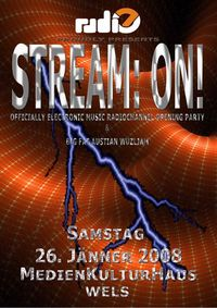 STREAM: ON! - officially electronic music radiochannel opening party@MedienKulturHaus - MKH