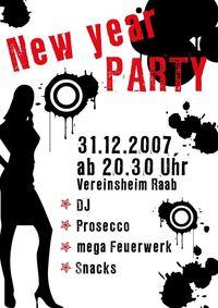 New Year Party@Vereinsheim