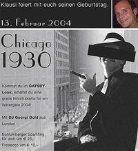 Chicago 1930@Disco Bel