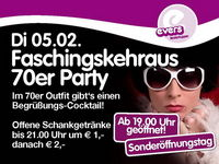 Faschingskehraus 70er Party@Evers