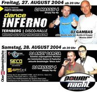 danceINFERNO@Disco-Halle (Schwandau)