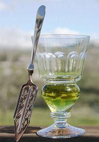 Ich hab mal Absinth getrunken, doch der grünen Fee bin ich nie begegnet.