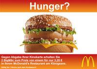 Gruppenavatar von McDonalds braucht einen Zustelldienst!
