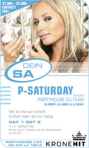 Dein Samstag - Coke light presents.. 2-4 Grooves live on stage & turns@Partyhouse Auhof