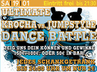 Ultimative Krocha vs. Jumpstyle Dance Battle @Excalibur