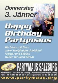 Happy Birthday Partymaus