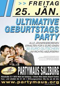 Ultimative Geburtstags Party